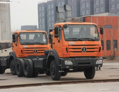 North Benz NG80 6x4 Beiben 420hp Tractor Truck trailer head truck for sale