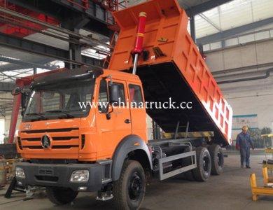 Camion Beiben Brand New 10 Wheel Mining Dump Truck
