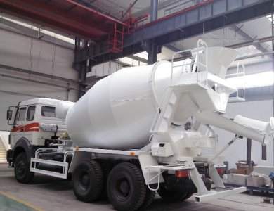 North Benz / Beiben NG80 6x4 concrete mixer truck for sale