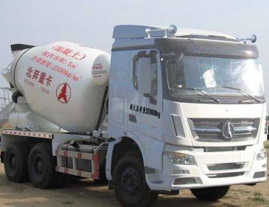 North Benz V3 6x4 concrete mixer truck Beiben brand new cement mixer truck