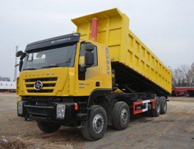 8x4 380hp 50T IVECO Genlyon Dump Truck