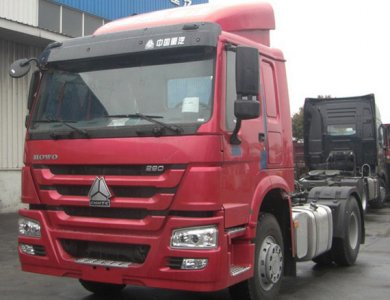 Hot sale SINO HOWO 4x2 Tractor Truck Tractor Heads