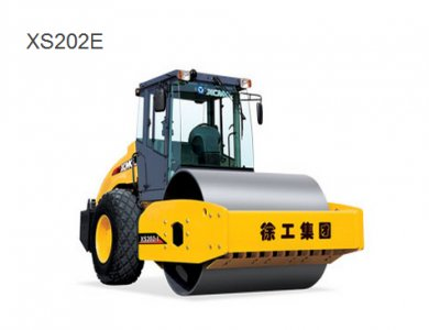 XCMG 20T Road Roller XS202 In Low Price Sale