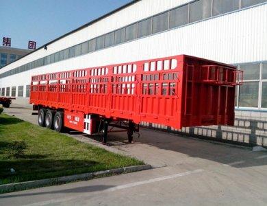 3 axles cargo semitrailer