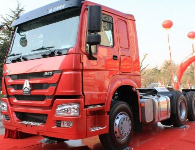 HOWO SINOTRUK CNG/Diesel Tractor Head Truck