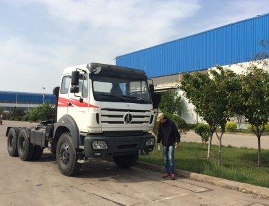 Beiben 6x4 Tractor Truck trailer head truck prices