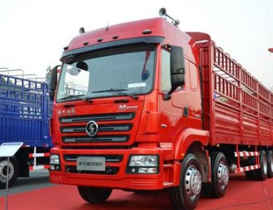 shacman D long 8X4 Lorry cargo truck for sale
