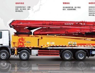 Sany 43m Concrete Pump Trucks