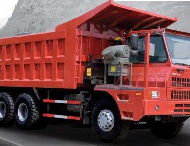 howo sinotruck mining dump truck 50ton/70 ton/ truck tipper/camion benne