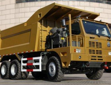 Sinotruck Howo 420HP 70ton Mining Dump Truck