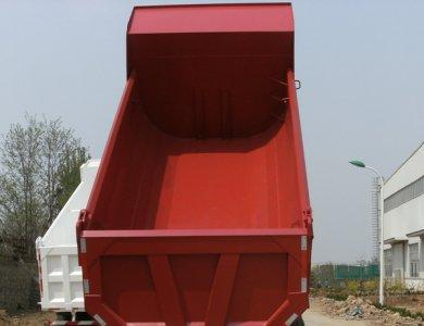 HOWO CNG 6X4 Dump Truck