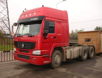 SINOTRUK HOWO CNG/LNG Tractor Truck