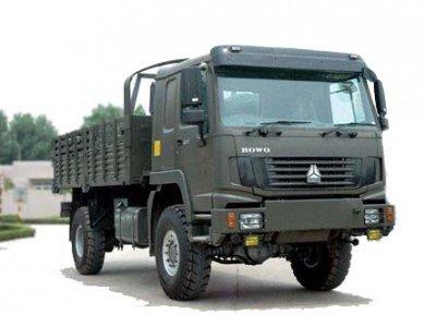 Sinotruck howo 4x4 all wheel drive vehicle cargo truck