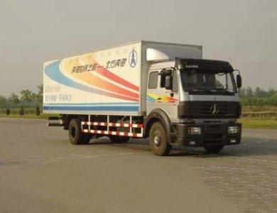 Beiben 4x2 300hp Cargo Van Truck