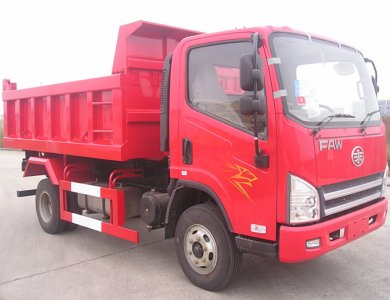 China Top-selling FAW 4x2 10 Ton Tipper Truck for Sale