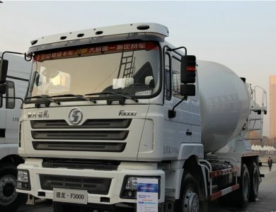 Shacman F3000 6x4 345hp Concrete Mixing Truck
