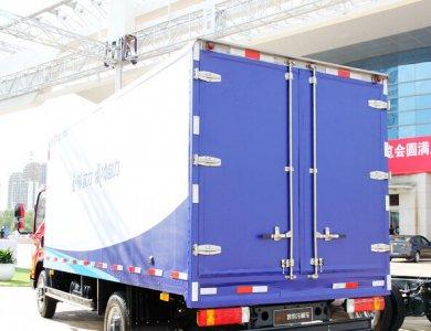 FAW 4x2 130HP Refrigerator Truck for Frozen Food Transportation