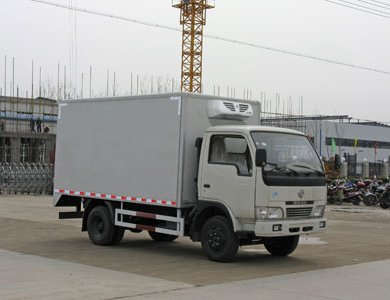Dongfeng 4x2 Refrigerated van truck for sale