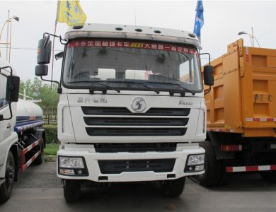 Shacman Dlong 8x4 385hp 12wheel 12 cbm concrete mixer truck