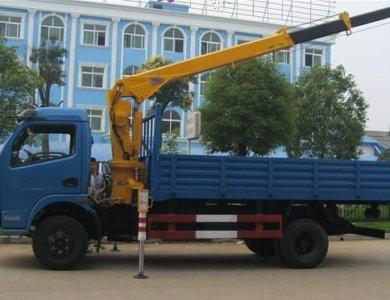 XCMG Crane SQ6.3K2Q 8 tons truck mounted crane