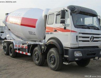 North Benz 6x4 concrete mixer truck Beiben mixer truck