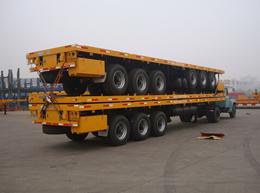 CIMC 3 axles container semitrailer