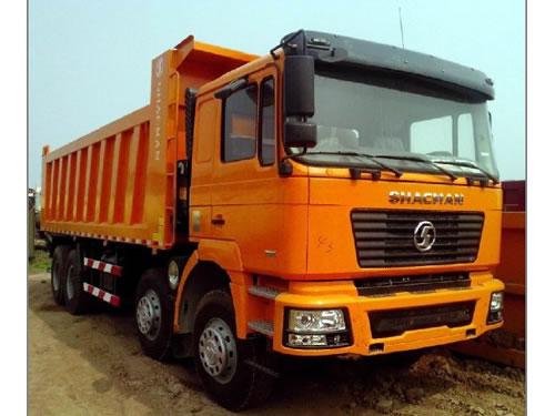 SHACMAN WEICHAI Diesel Manual 8x4 Tipper Truck