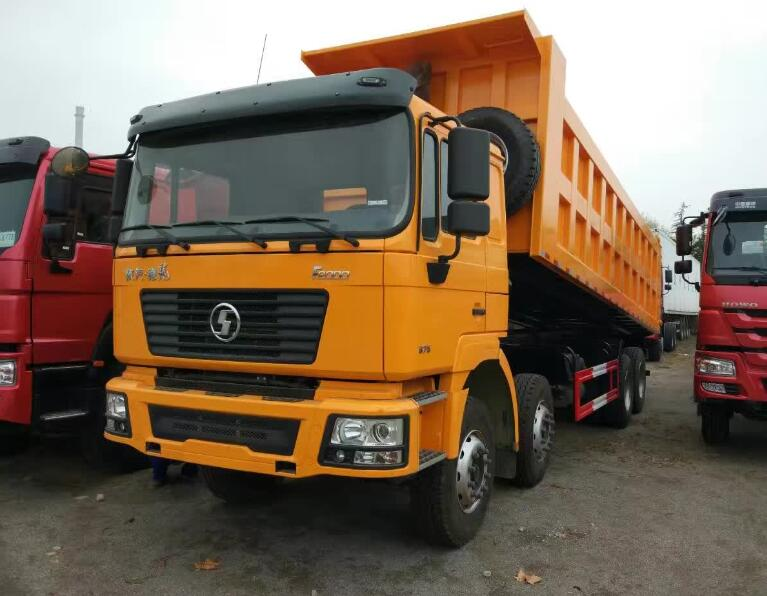 Germany MAN Truck technology SHACMAN F2000 40t 12 Wheeler Tipper Truck