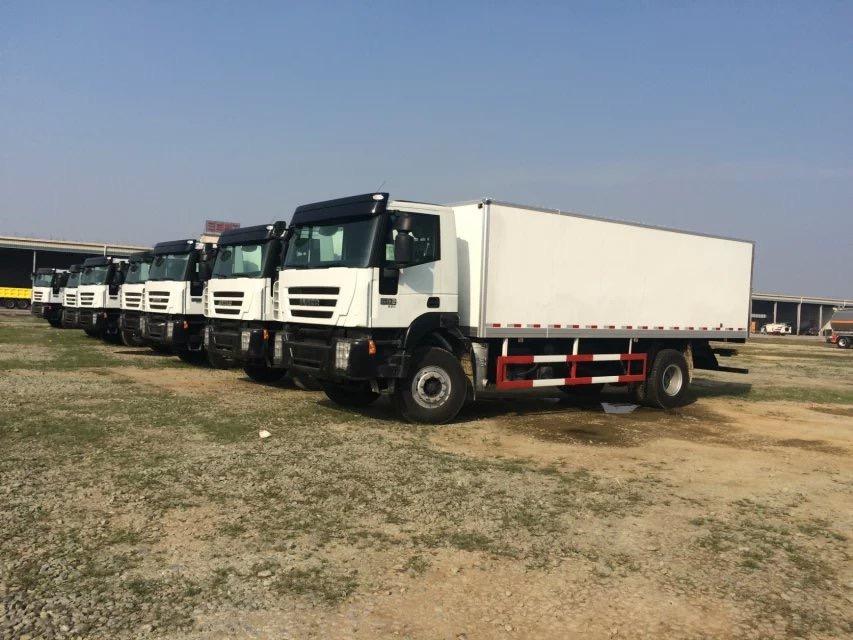 Famous Iveco Brand Hongyan Genlyon C100 6*4 380HP Cargo Truck