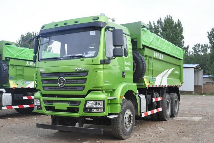 SHACMAN M3000 light kerb weight 6x4 dump truck for clinker transportation in city