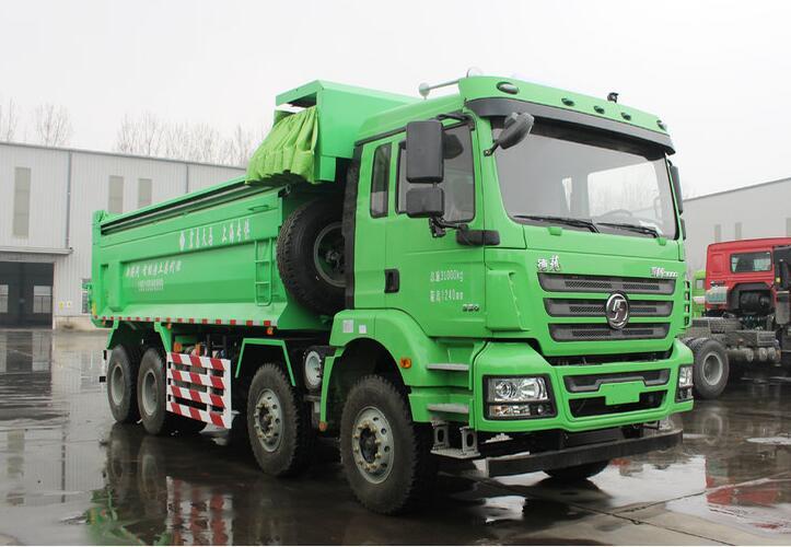 SHACMAN New M3000 Light Kerb Mass 8x4 Tipper Truck