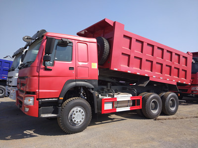 engineering truck Brand new 6*4 371hp howo dump truck for sale