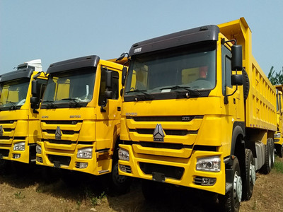 China brand new 50T  8*4  371hp howo dump truck for sale