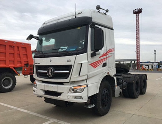 China Road Transportation Vehicle Beiben V3 6x4 Tractor Truck for Sale 480HP