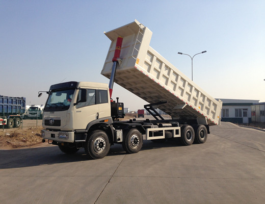 Heavy Duty Truck Faw New J5P 8x4 12 Wheels Tipper Truck
