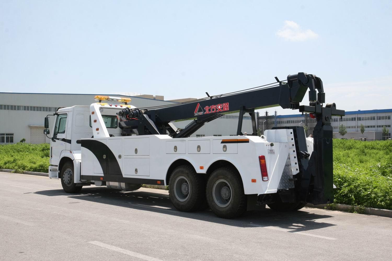 HOWO 6x4 rotator road wrecker truck for sale