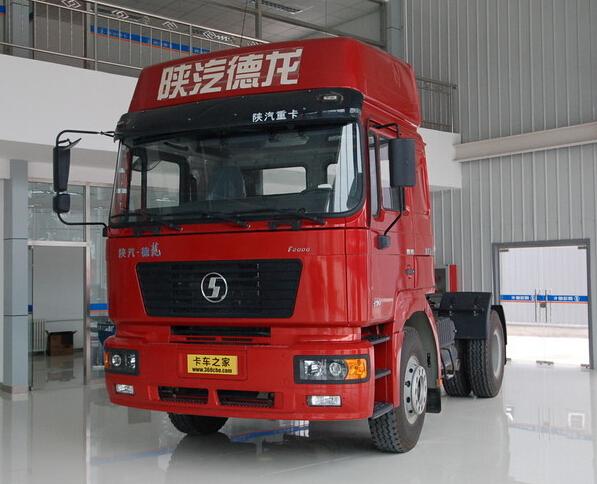 Shacman truck tractor D long 4X2 EUROIII Tractor Head