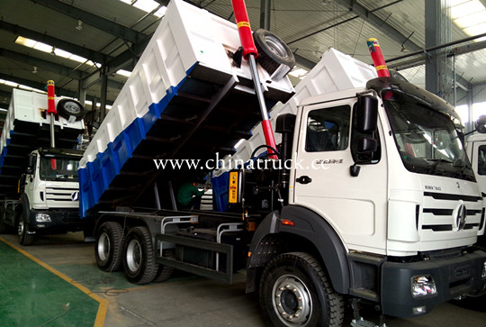 Camion Beiben 35T 6x4 Tipper Truck for sale