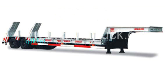 50 tons to 70 tons capacity Low Bed Semitrailer