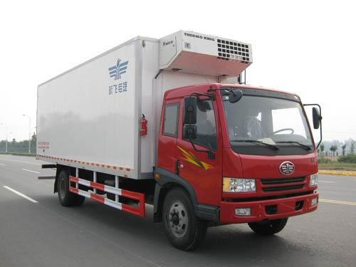 FAW 4x2 refrigerator truck