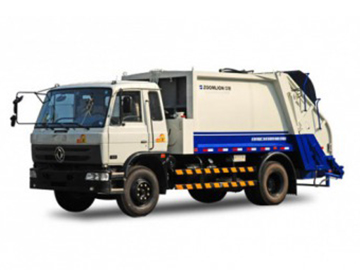 cummins dongfeng Garbage collector truck