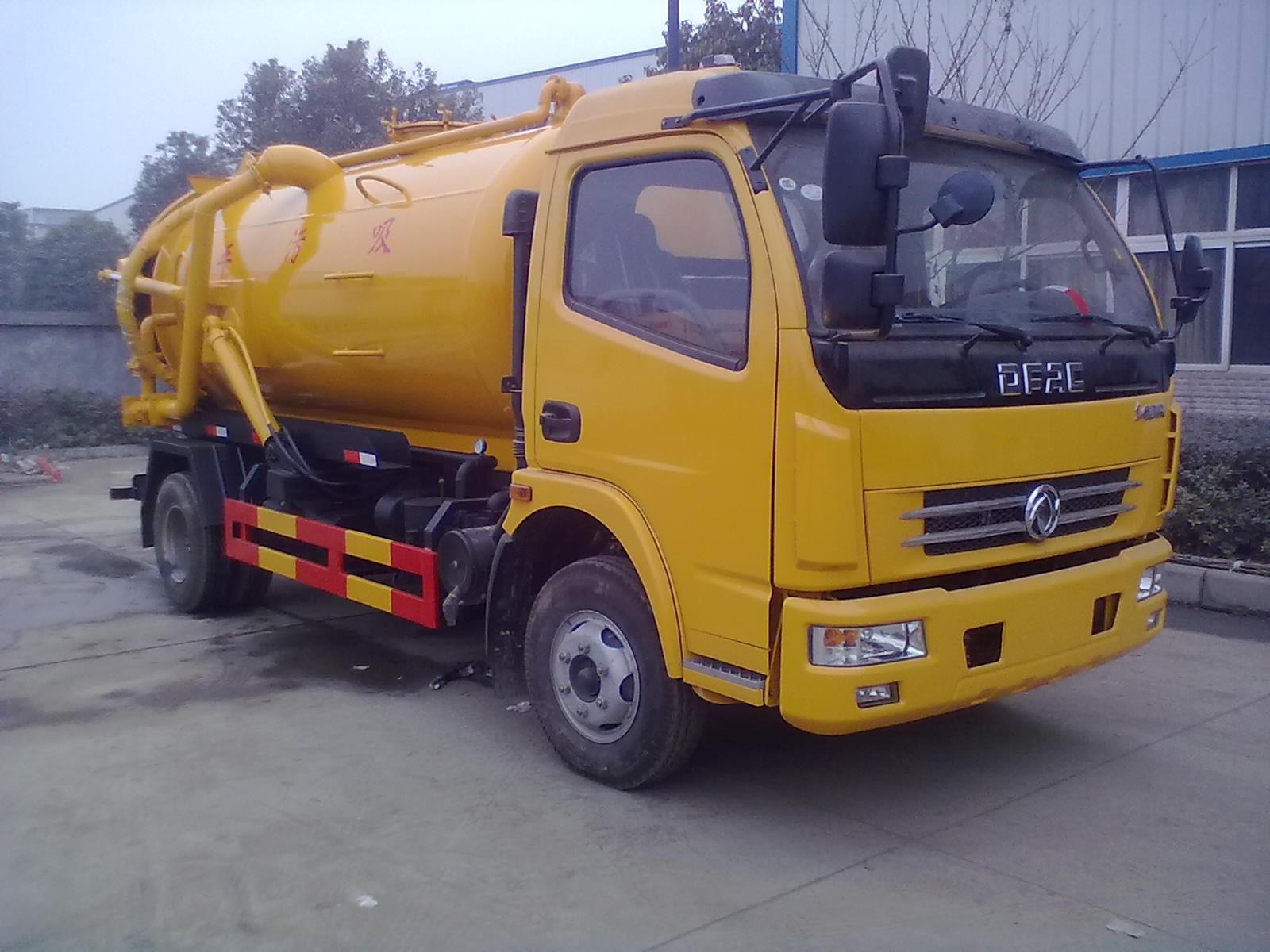 Dongfeng vacuum truck