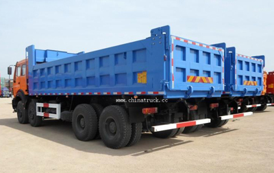 Beiben Brand New 12 Wheel Dump Truck Loading Capacity