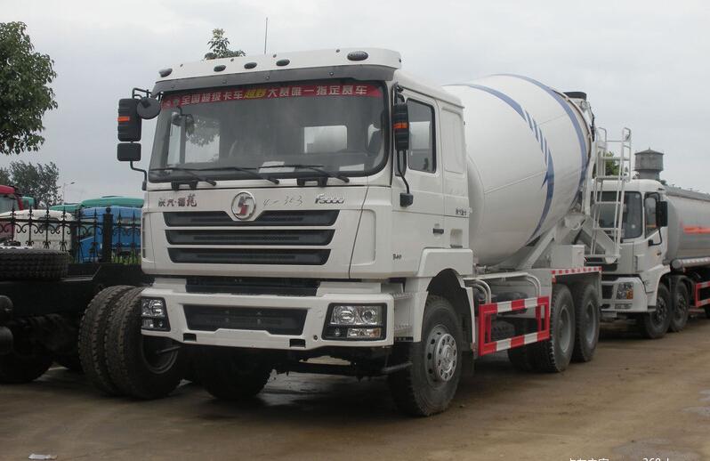 Shacman F2000 6X4 375hp Concrete Mixer Truck