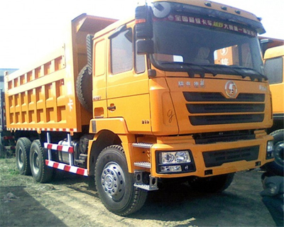 SHACMAN F3000 Tipper Cummins engine 6X4 DUMP TRUCK