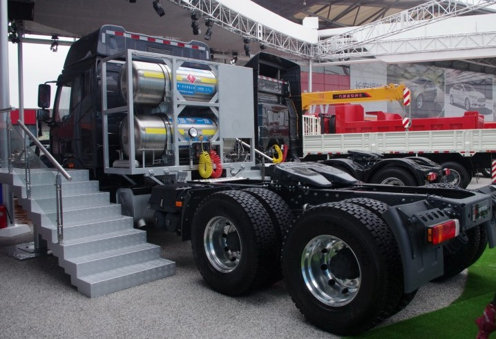 Best Price FAW LNG Tractor Truck