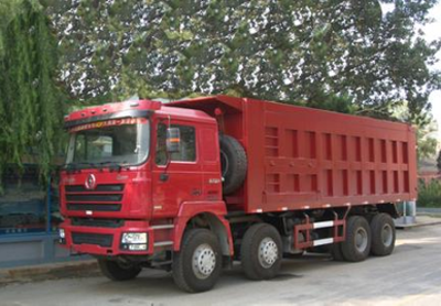 Shacman Cummins 8x4 heavy duty Dump Truck