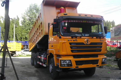 SHACMAN F3000 Tipper 6x4 10 tires Dump Truck