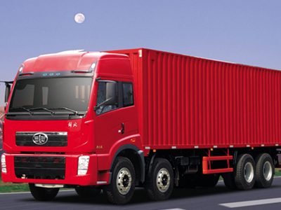 FAW 6x4 CNG Engine 336hp Euro 4 Cargo Truck