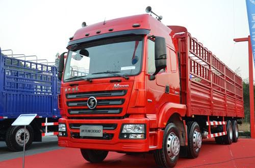 SHACMAN 380hp lorry cargo truck hot sale
